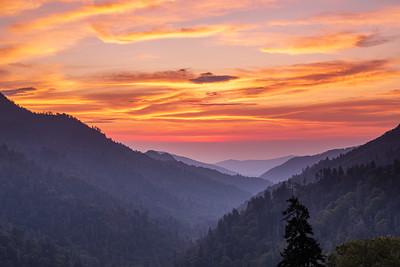 Morton Overlook Sunset