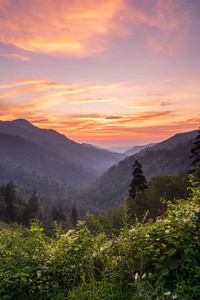 Morton Overlook Sunset