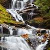 Roaring Fork Falls and Cascades Closeup