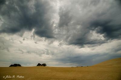 Storm clouds over Jockey's Ridge State Park
