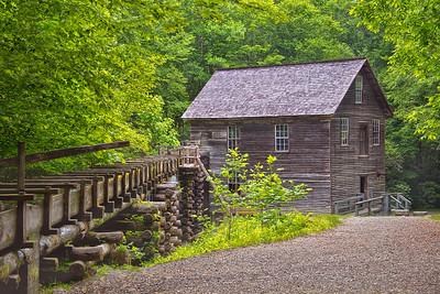 Mingus Mill near Cherokee NC