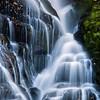 Eastatoe Falls and Stair Steps Vertical Closeup