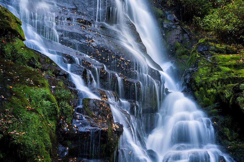 Eastatoe Falls Star Steps and Cascades