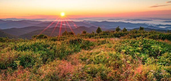 Black Balsam Knob Sunrise Three