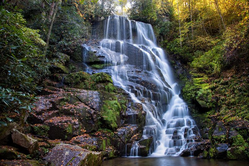 Eastatoe Falls and Pond
