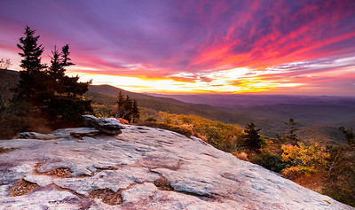 Sunrise Linville Gorge