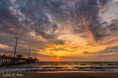 Sunrise at Jennette's Fishing Pier