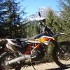 Dick's new Katie-Em 690 & Mt. Whitechuck - Rat Trap Pass area