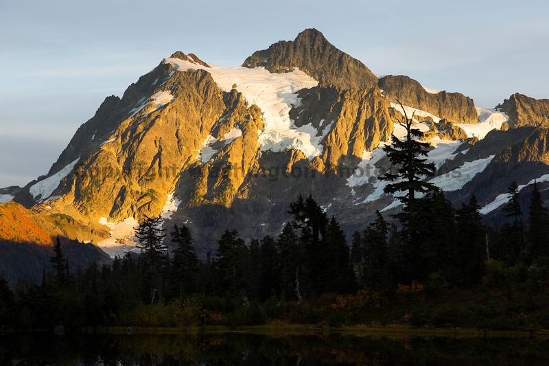 Mt Shuksan from Picture Lake 34
