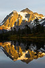 Mt Shuksan from Picture Lake 35