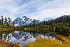Mt Shuksan from Picture Lake 11