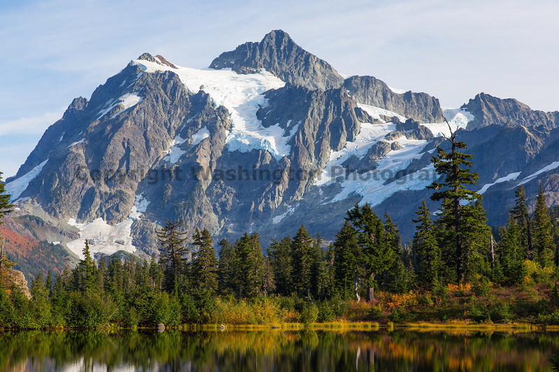 Mt Shuksan from Picture Lake 29
