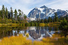 Mt Shuksan from Picture Lake 12