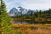 Mt Shuksan from Picture Lake 18