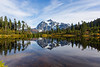 Mt Shuksan from Picture Lake 25