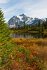 Mt Shuksan from Picture Lake 17