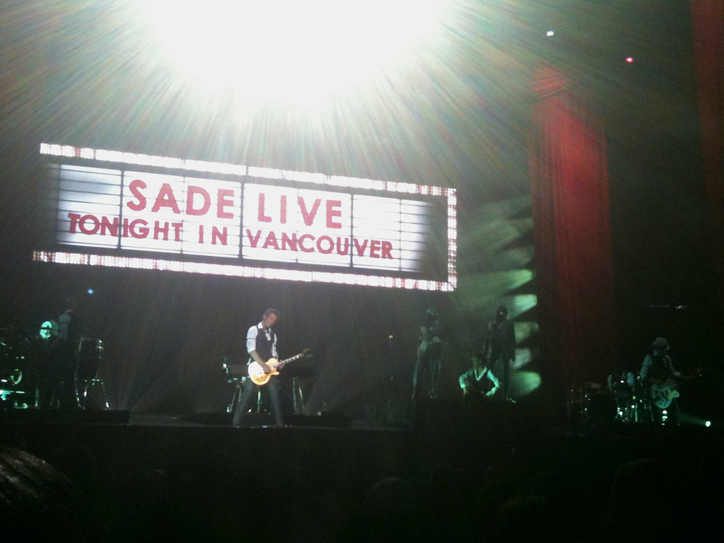 "Sade live in concert in Vancouver on August 13th, 2011 For the story, check out: <a href=""http://www.nomadbiba.com/wp/2011/08/sade-live-in-vancouver/"">Sade – Live in Vancouver</a>"