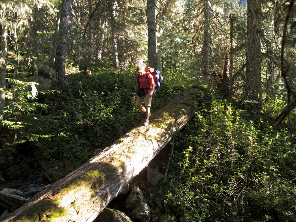 """Hiking up to Wedgemount Lake BC, Canada For the story check out: <a href=""""http://www.nomadbiba.com/wp/2011/09/full-moon-mission-up-wedgemount/""""> Full Moon Mission Up Wedgemount</a>"""