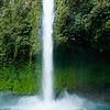 Waterfall La Fortuna in Costa Rica