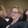 Congresswoman, Niki Tsongas, sits in on the North Central Congressional Luncheon on Friday at the Great Wolf Lodge in Fitchburg.  Sentinel & Enterprise photo/Jeff Porter
