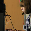 """The holidays are over and the """"Girls Who Code"""" class was back in full swing at the Boys and Girls Club of Fitchburg and Leominster Saturday, January 5, 2019. Tisiphone Hallet, 13, works on her art web site she is creating during the class. SENTINEL & ENTERPRISE/JOHN LOVE"""