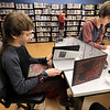 Many young adults are playing Dungeons & Dragons at the Lunenburg Library's Young adults room and this years first game was on Thursday, January 3, 2019. Getting everything ready for his game is Dungeon Master Kristopher Boudreau, 13. SENTINEL & ENTERPRISE/JOHN LOVE