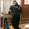 it was steady voting at the polls in Leominster City Hall on Tuesday morning. SENTINEL & ENTERPRISE/JOHN LOVE