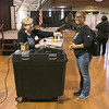 First time voter Maria Rosario, 19, was all smiles as she finished up voting in Fitchburg at the polls in the Senior Center. SENTINEL & ENTERPRISE/JOHN LOVE