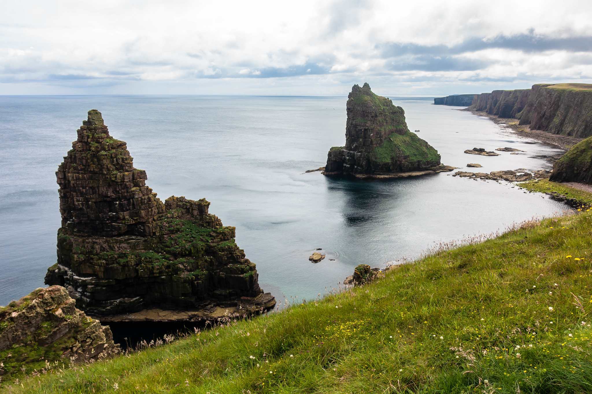 Thirle Door and the Stacks of Duncansby - North Coast 500
