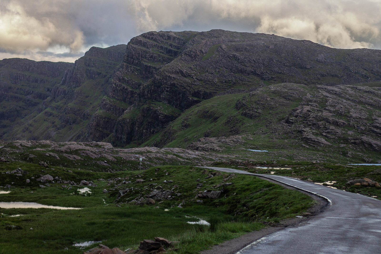 Bealach na' Ba Pass, Applecross, Scotland, North Coast 500