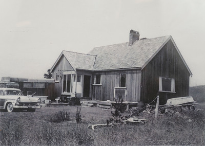 One of the original six cabins in North Cove. Becky Talevich