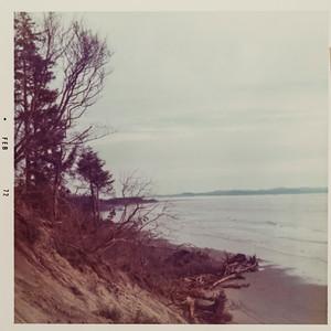 North Cove erosion 1972. Linda Karjala