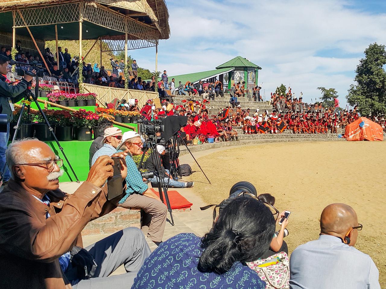Hornbill Festival Kisama Heritage Village Nagaland
