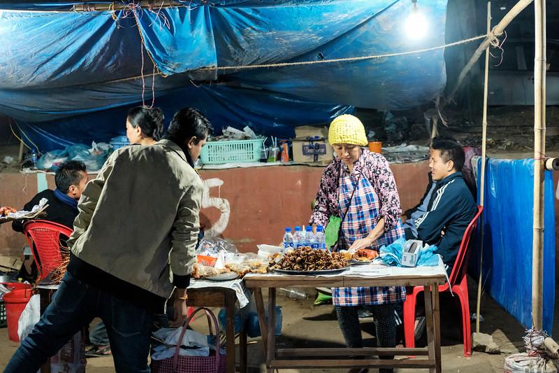 Dimapur Street at Night 8 ...
