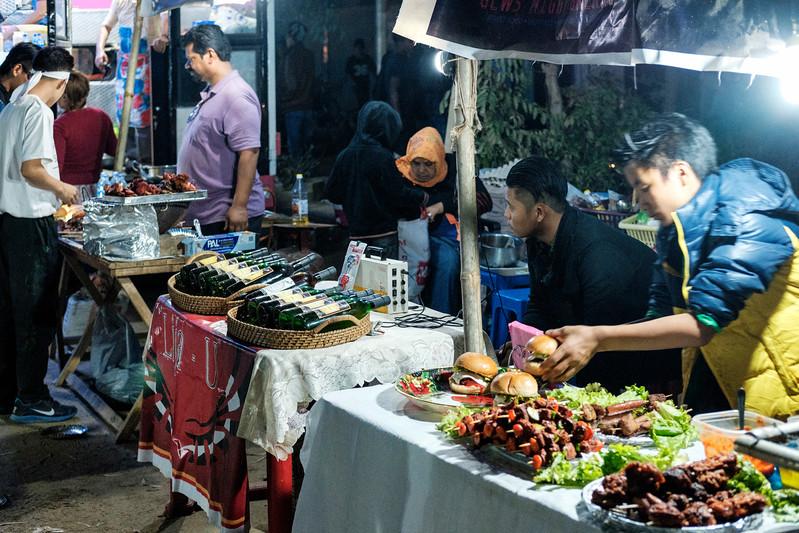 Dimapur Street at Night 9 ...