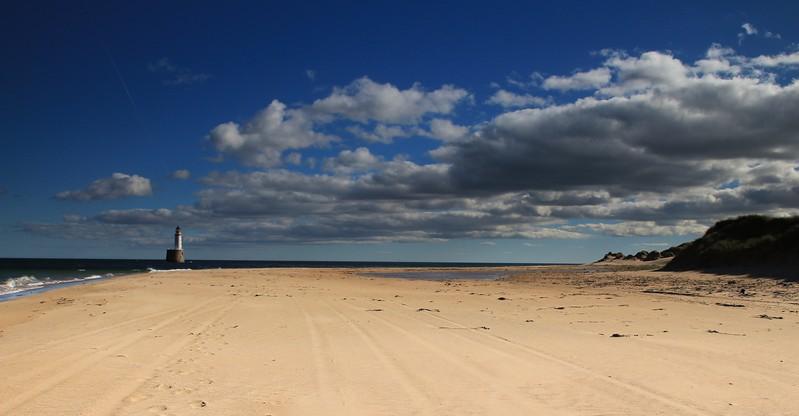 Rattray Head Beach and Lighthouse<br /> (15x10 Alumini print)