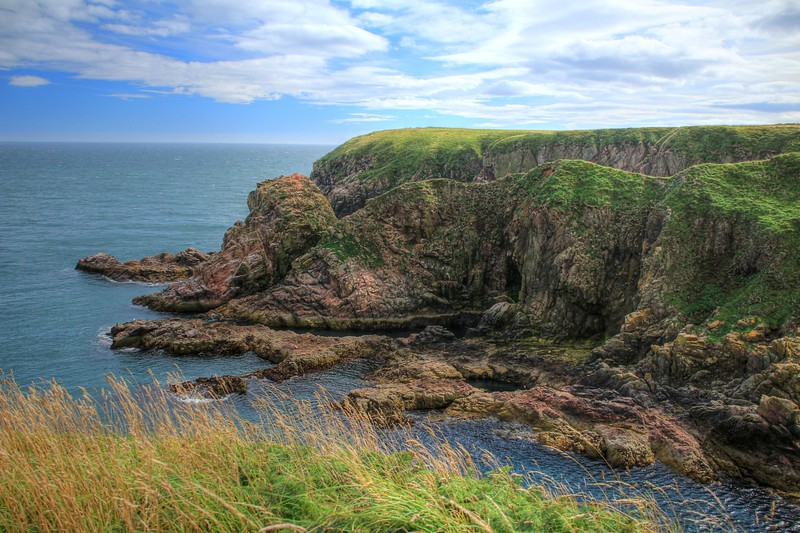 Headland at Bullers o'Buchan