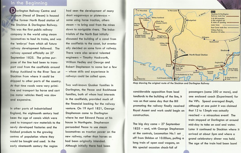 A bit of History of the Stockton & Darlington Railway