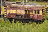 EWS 08 698 <br /> <br /> on the end of the stack of shunters