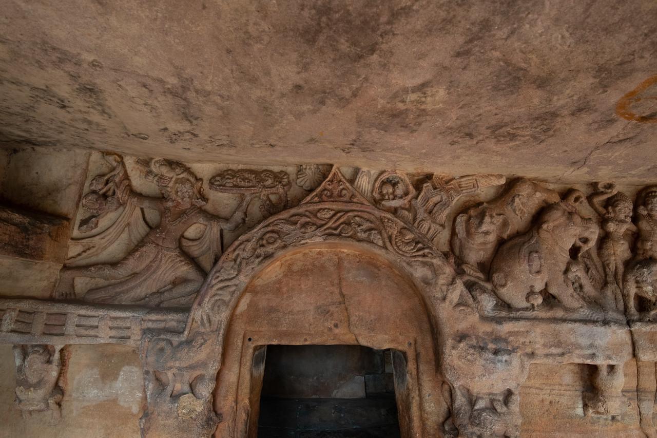 Udaygiri - ancient swastik