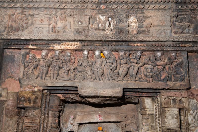 Parasurameswar temple - ganesh panel