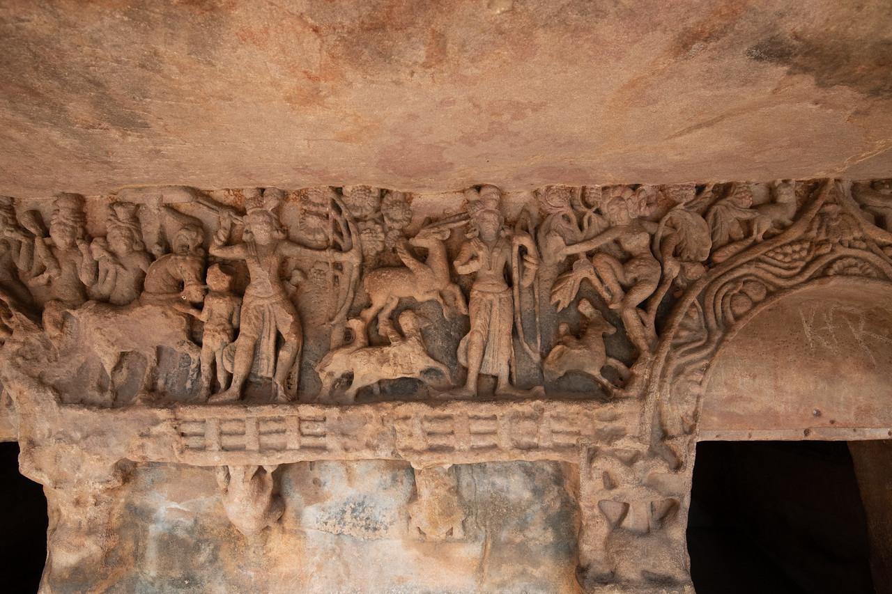 Udaygiri - Scene from Ramayana - Lakshman and Marich the deer