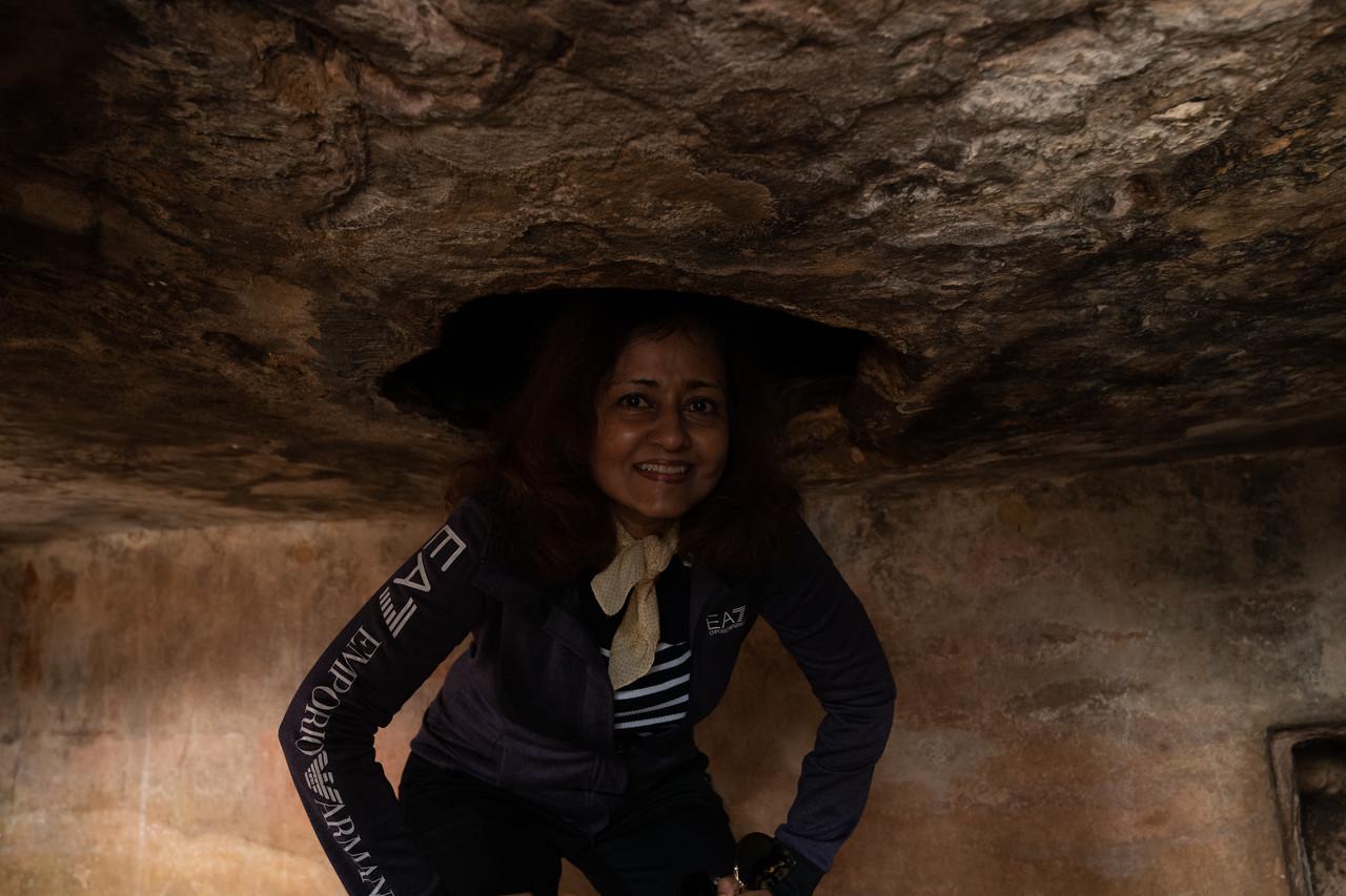 Secret passage@rani Gumpha