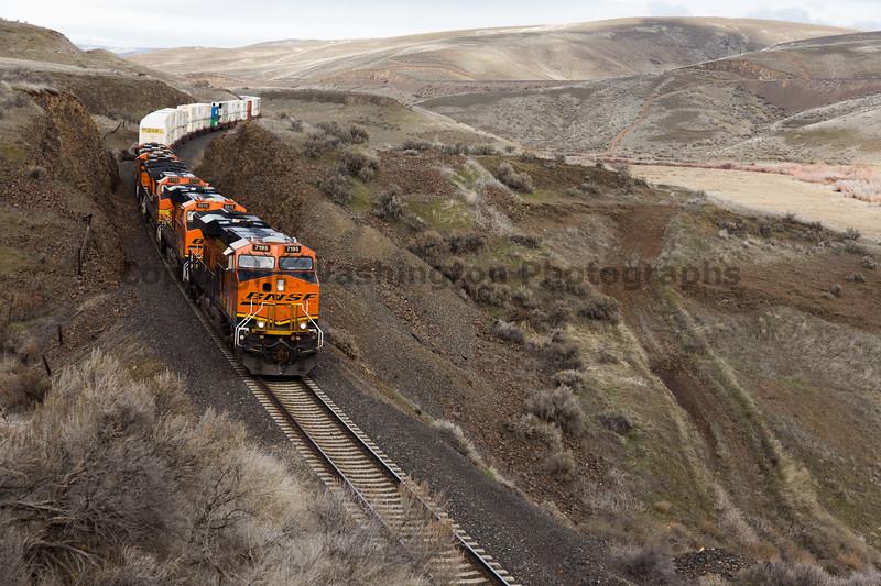 Columbia River Gorge Train 19