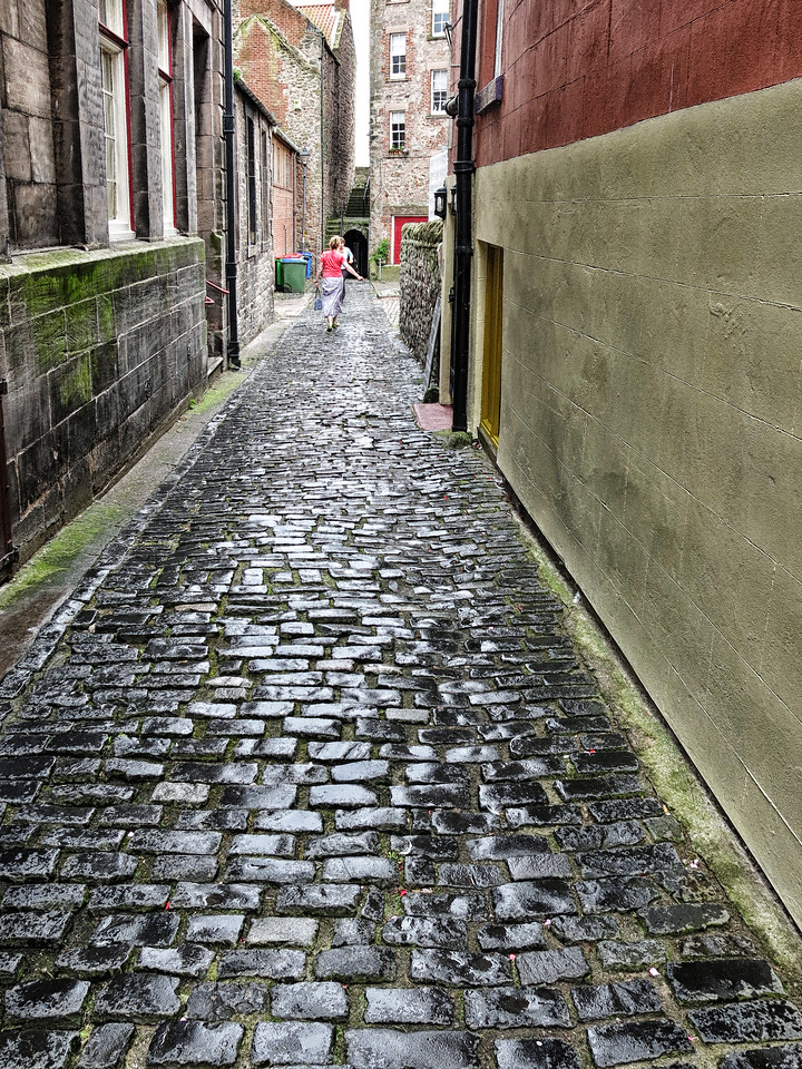 Berwick (this alley was used in LS Lowry paintings)