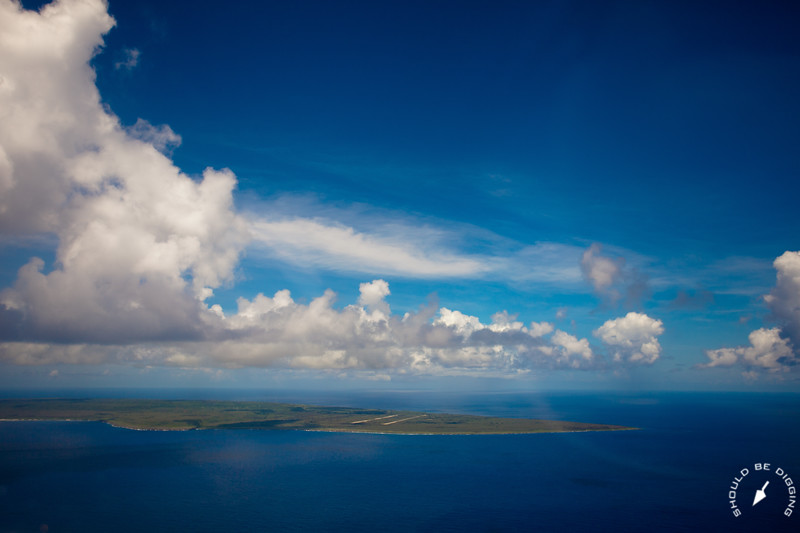 Tinian from the air