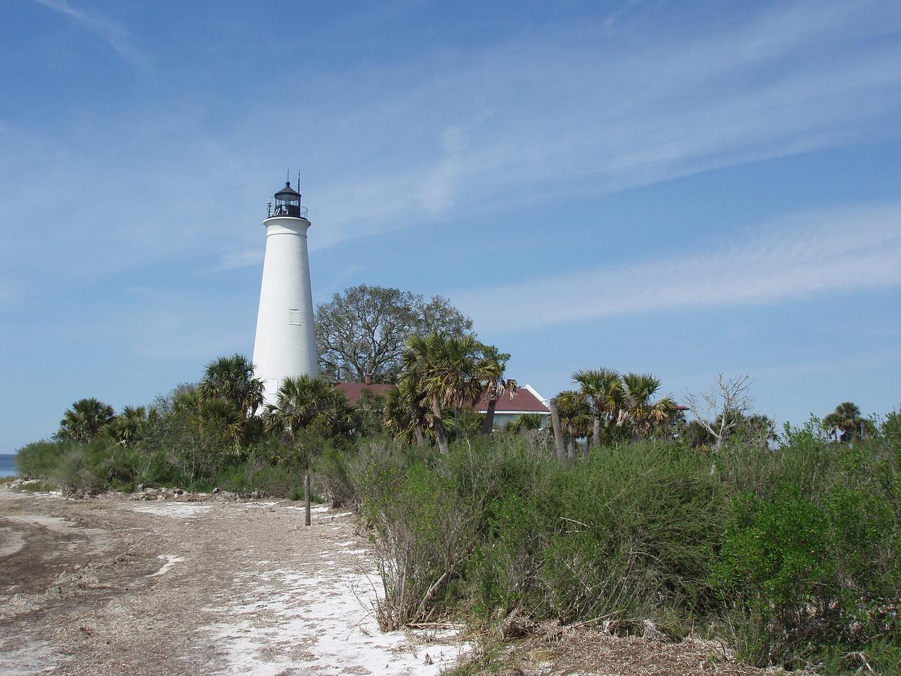St. Marks Lighthouse<br /> PHOTO CREDIT: Robert Coveney / Florida Trail Association
