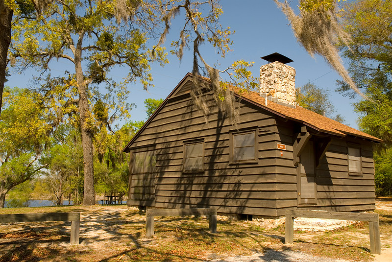 CCC Cabin<br /> Gold Head Branch State Park <br /> PHOTO CREDIT: M. Timothy O'Keefe / Florida Trail Association