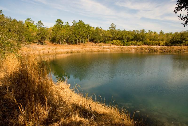 Devil's Washbasin aka Deer Lake<br /> Gold Head Branch State Park <br /> PHOTO CREDIT: M. Timothy O'Keefe / Florida Trail Association