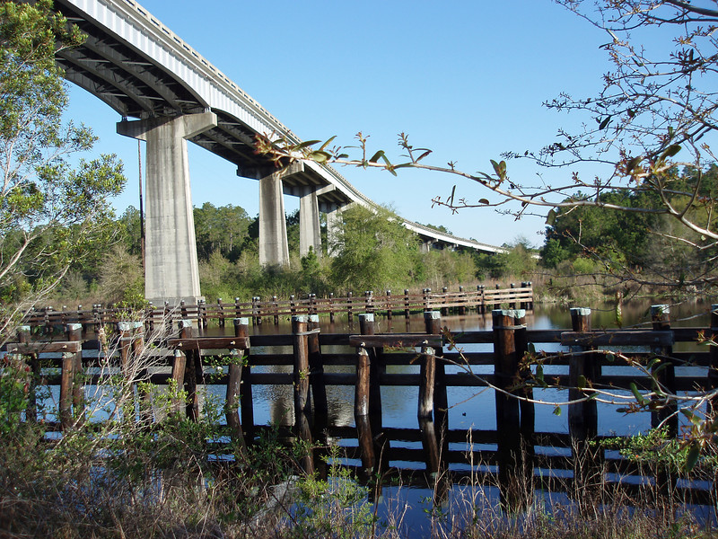 Cross Florida Barge Canal<br /> photo credit: Robert Coveney / Florida Trail Association